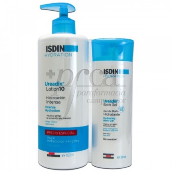 UREADIN LOCION 10 400ML + GEL BAÑO 200ML PROMO