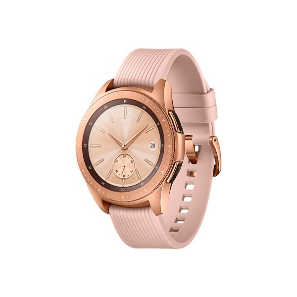 Samsung fitness sm-r810 galaxy watch 42mm oro rosa reloj smartwatch pantalla samoled gps bluetooth