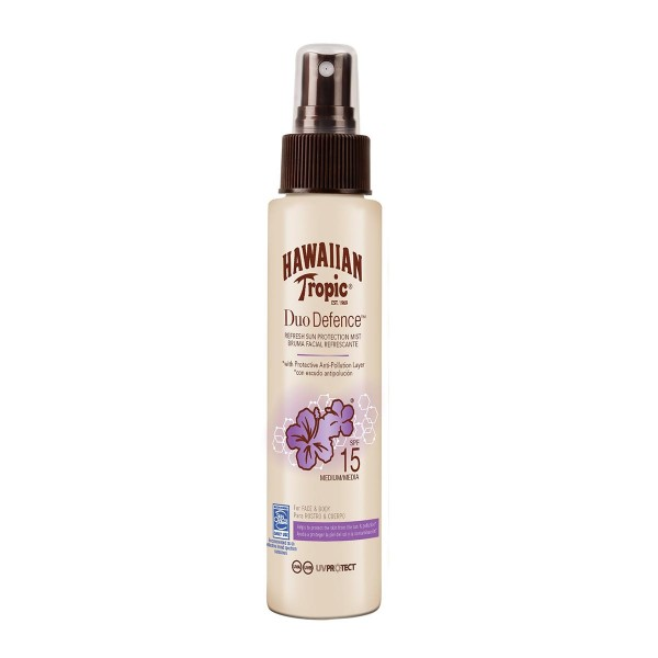 Hawaiian tropic duo defence sun protection mist spf15 100ml