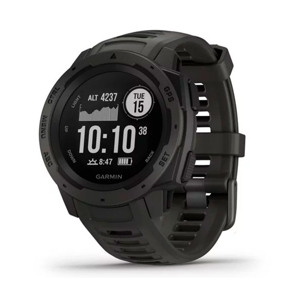 Garmin instinct graphite 45mm smartwatch resistente gnss gps ant+ bluetooth