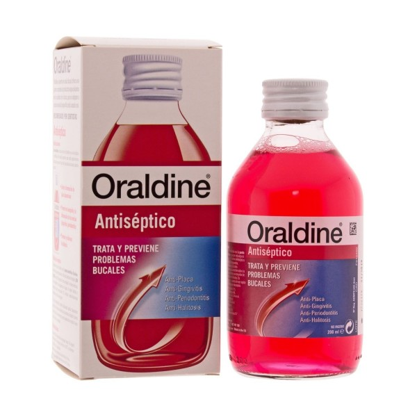 ORALDINE ANTISEPTICO 200 ML.