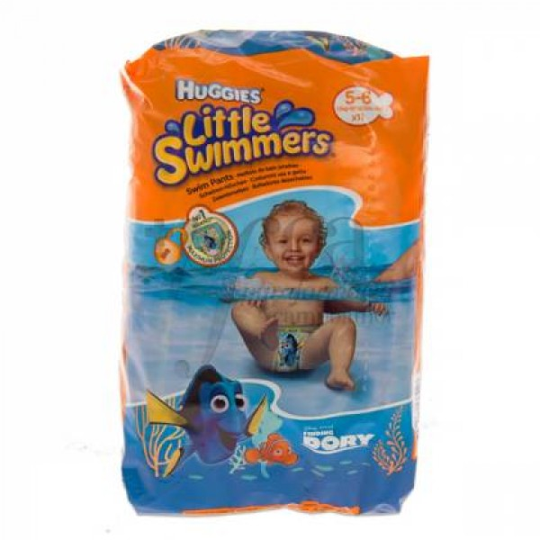 HUGGIES LITTLE SWIMMERS T5-6 12-18KG 11U