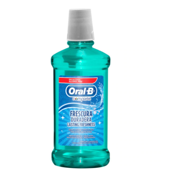 Oral-B enjuague bucal Menta Fresca 500 ml