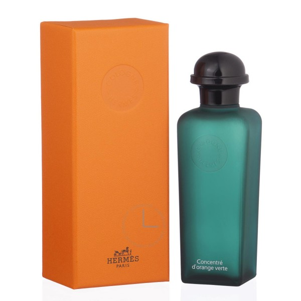 Hermes paris eau d'orange verte eau de cologne relleno 50ml vaporizador