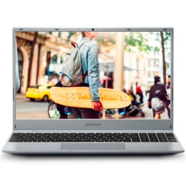 Medion akoya e15301 md62019 plata portátil 15.6'' fullhd ryzen 5 3500u 256gb ssd 8gb ram windows 10 home