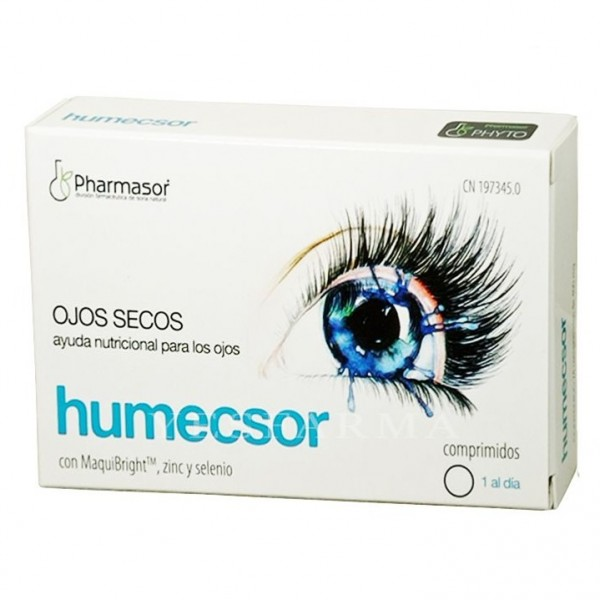 HUMECSOR 24 COMPS DE 400 MG PHARMASOR